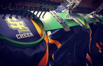Custom Embroidery Houston - Cheerleading Jackets