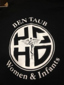Black T-Shirt, 1 Color Screen Print | Ben Taub Hospital