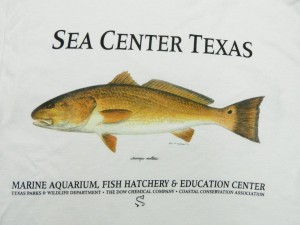 4 Color Process, White T-Shirt | Sea Center Texas