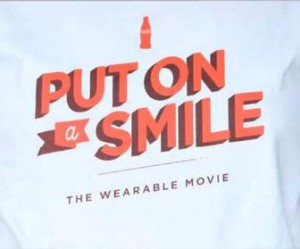 "CocaCola ""The-Wearable-Movie"" - Marketing Custom TShirts"