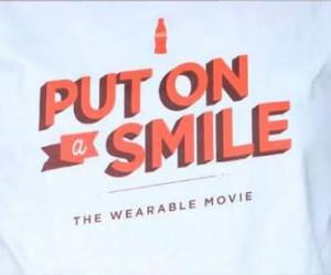 "CocaCola ""The-Wearable-Movie"" - Marketing Custom TShirts"
