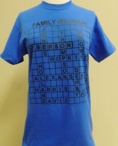 Family Reunion T-Shirts | Custom Screen Print T-Shirt