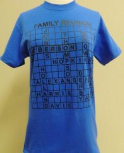 Family Reunion T-Shirts | Custom Screen Print T-Shirt